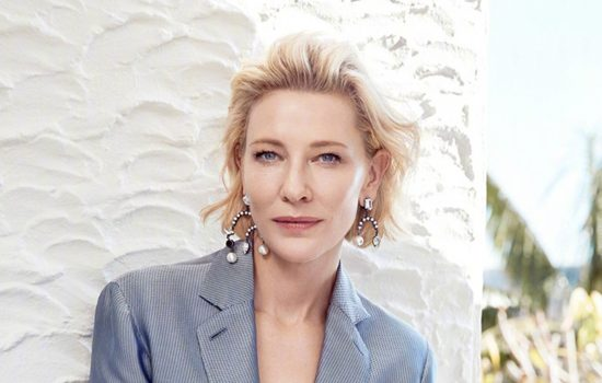 Cate Blanchett on the cover of Elle China