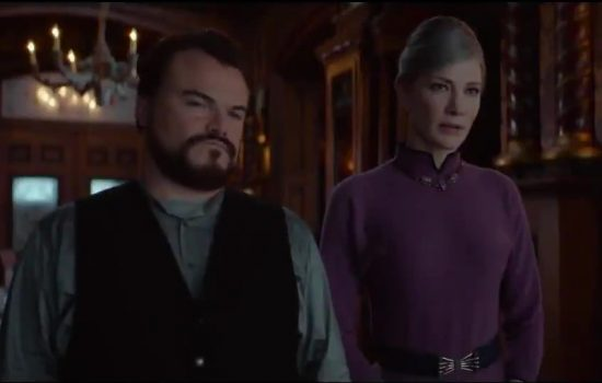 "Cate Blanchett and Jack Black to promote ""The House with A Clock in Its Walls"" at The Jonathan Ross Show + New Promo clips"