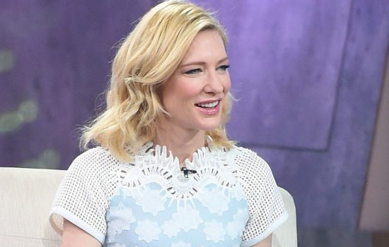 "Cate Blanchett will be on ""Good Morning America"" promoting ""The House With A Clock In Its Walls"""