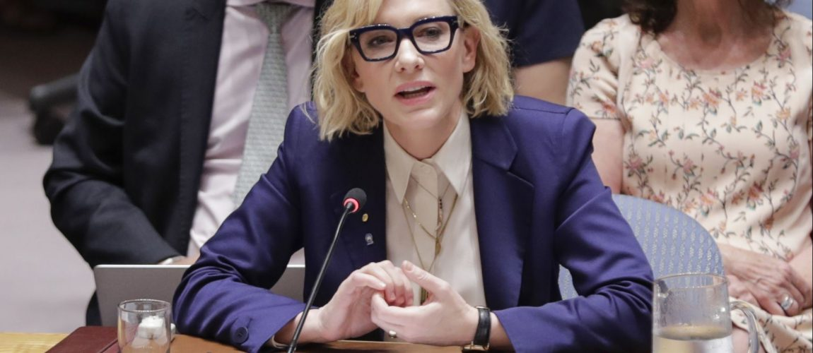Cate Blanchett UNHCR Goodwill Ambassador addresses the Security Council – Additional Pictures + New clip
