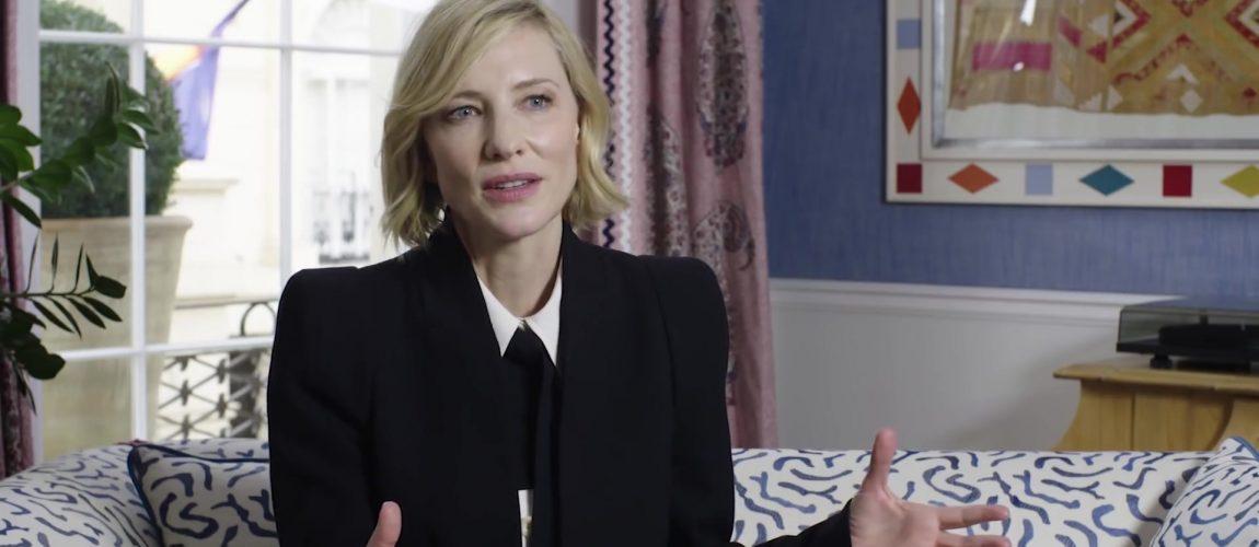 Cate Blanchett featured in TateShots Why Study Art?
