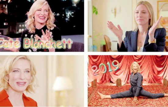 Cate Blanchett Birthday Project 2019