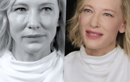 Cate Blanchett for Giorgio Armani: New Interview and Documentary