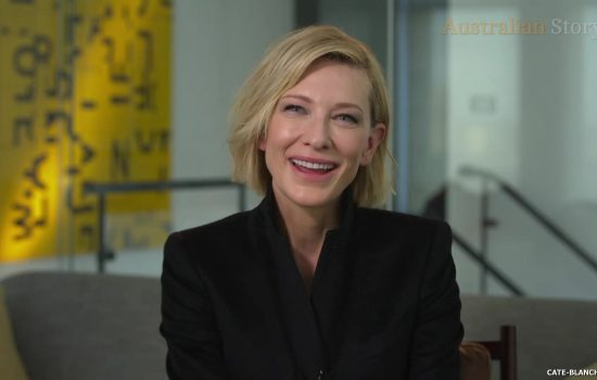Cate Blanchett as a presenter on Australian Story episode