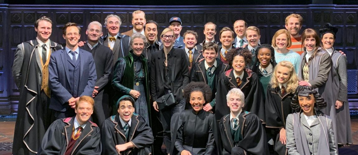 Cate Blanchett visits Harry Potter and the Cursed Child in Australia