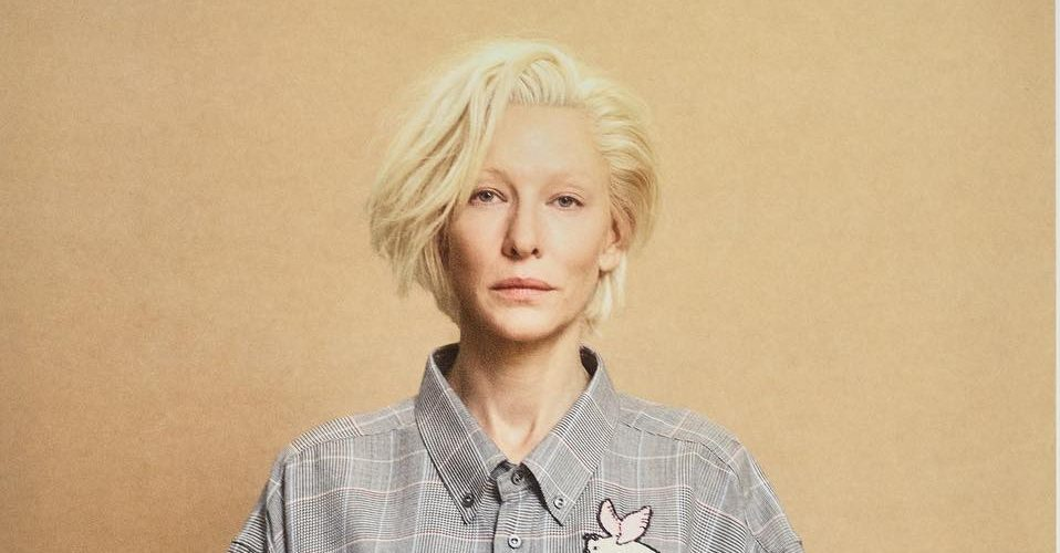 Cate Blanchett for Beauty Papers magazine VII Glamour issue