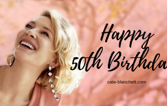 Happy 50th Birthday Cate!