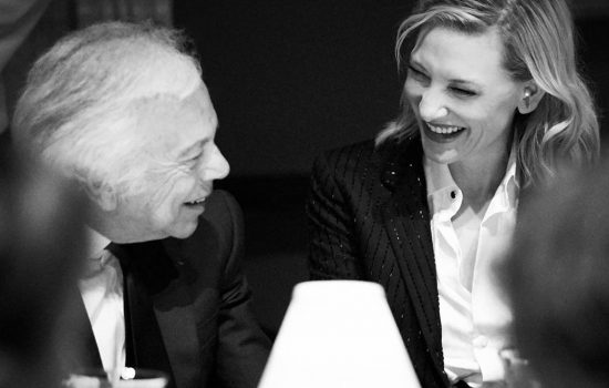 Cate Blanchett supports Ralph Lauren for the screening of his documentary Very Ralph