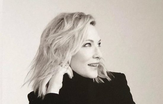 Cate Blanchett in Agenda 2020 book