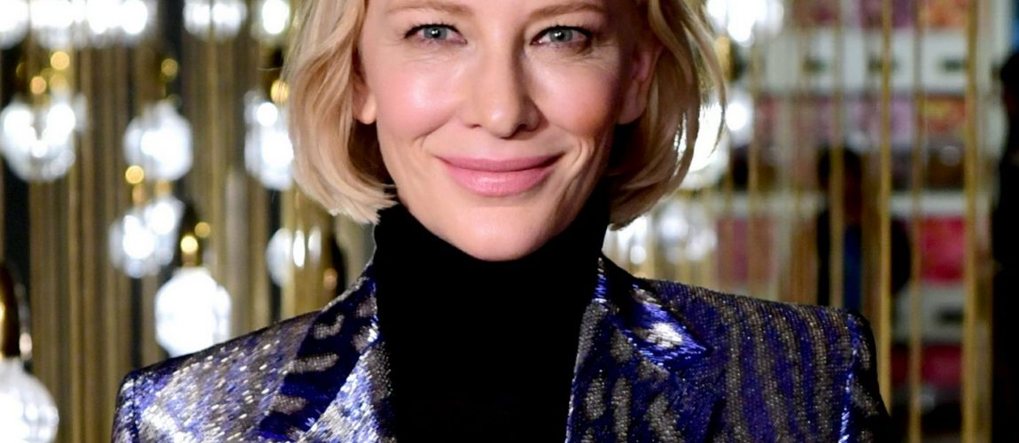 Cate Blanchett attends the UK Premiere of True History of the Kelly Gang