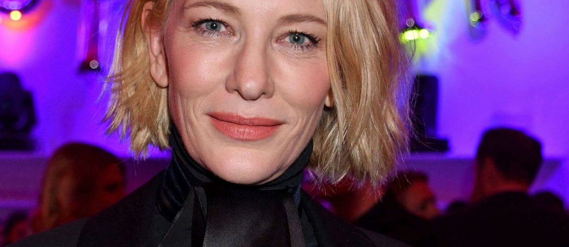 70th Berlin Film Festival – Cate Blanchett and Andrew Upton at the Plot Point Party