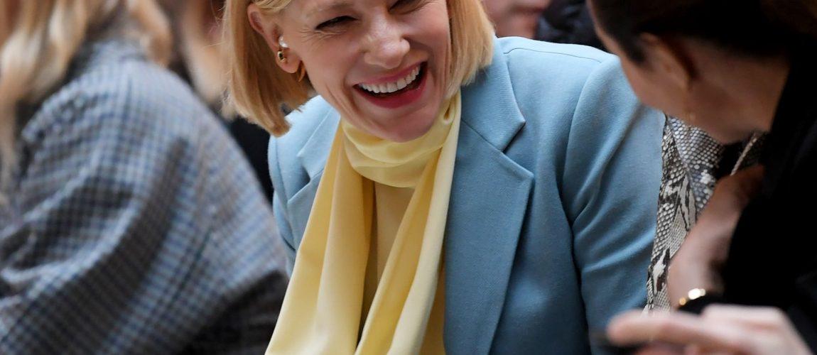 London Fashion Week – Cate Blanchett attends Roksanda's Show