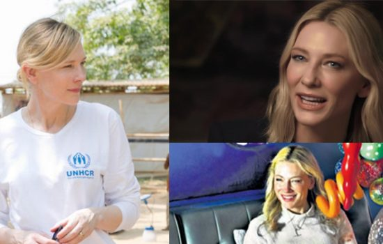 Cate Blanchett: Vogue's Hope Series, Newspaper Scans, and This Changes Everything