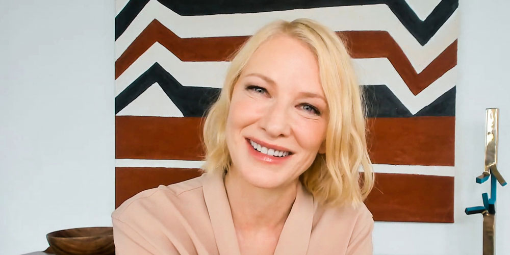Cate Blanchett and IWC CMO Talk Sustainability, Dirty Films as Executive Producer for Apples (2020), and Narration of an Animation for GCFA