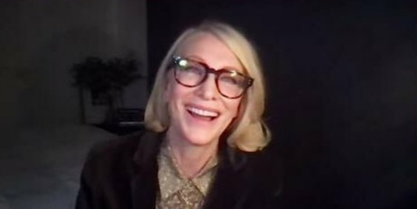 Cate Blanchett moderated Q&A for The Midnight Sky