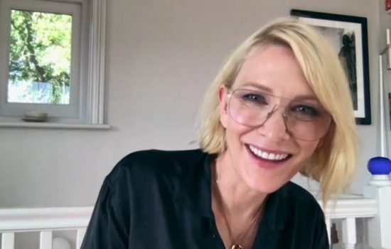 Cate Blanchett in Staged and news compilation