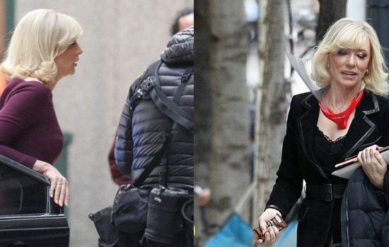 More of Cate Blanchett on set of Don't Look Up and New Interview for the movie Apples