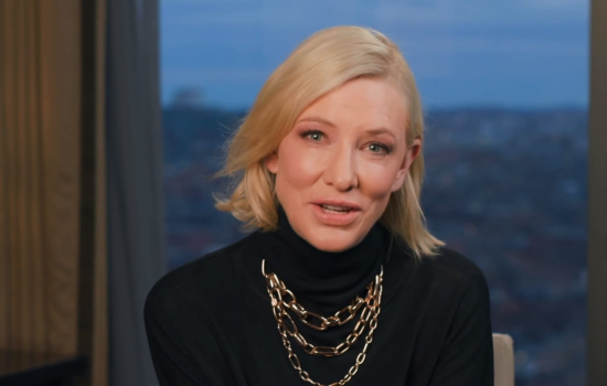Cate Blanchett receives Lifetime Achievement Award from G'Day USA