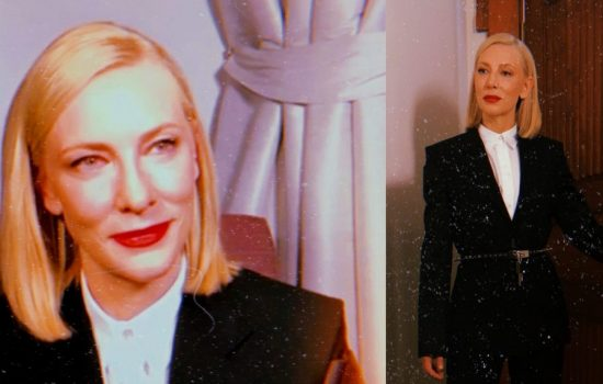 Cate Blanchett attends virtual Screen Actors Guild Awards