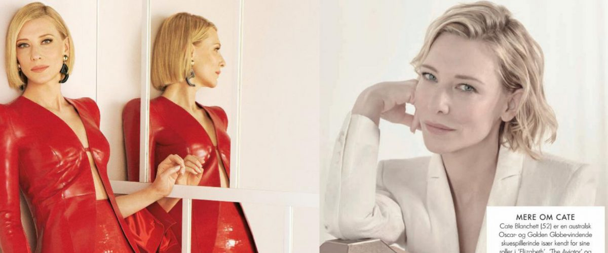 Cate Blanchett featured on Skon and Grazia Italy May 2021 Issues (Scans)