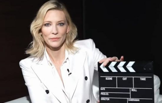 Cate Blanchett interviewed ahead of South Korean release of Apples