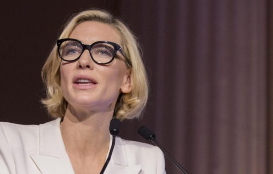 UNHCR Ambassador Cate Blanchett sees pandemic as chance for reflection on plight of refugees; & Borderlands wraps filming.